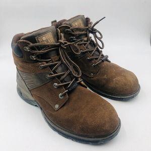 Work Wear by Wrangler Brown Boots, Men's 10.5 M
